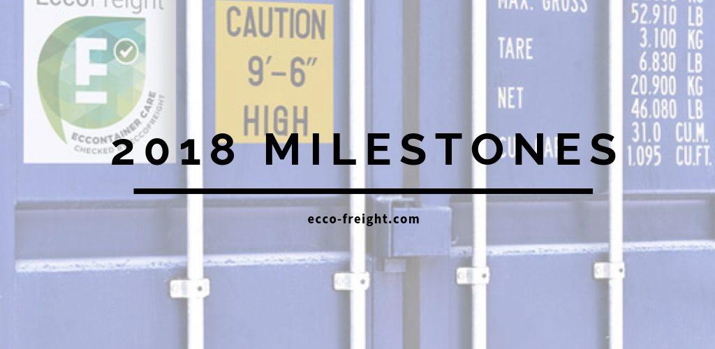 2018-milestones EccoFreight