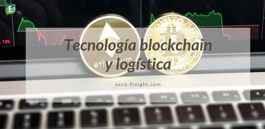 tecnologia blockchain y logistica EccoFreight