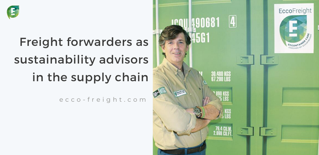 freight forwarders sustainability advisors