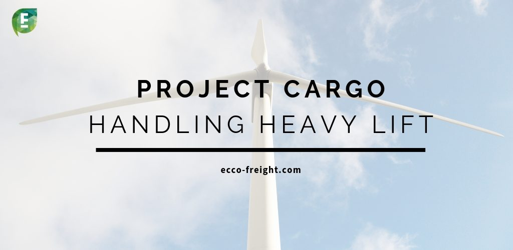 project cargo with EccoFreight